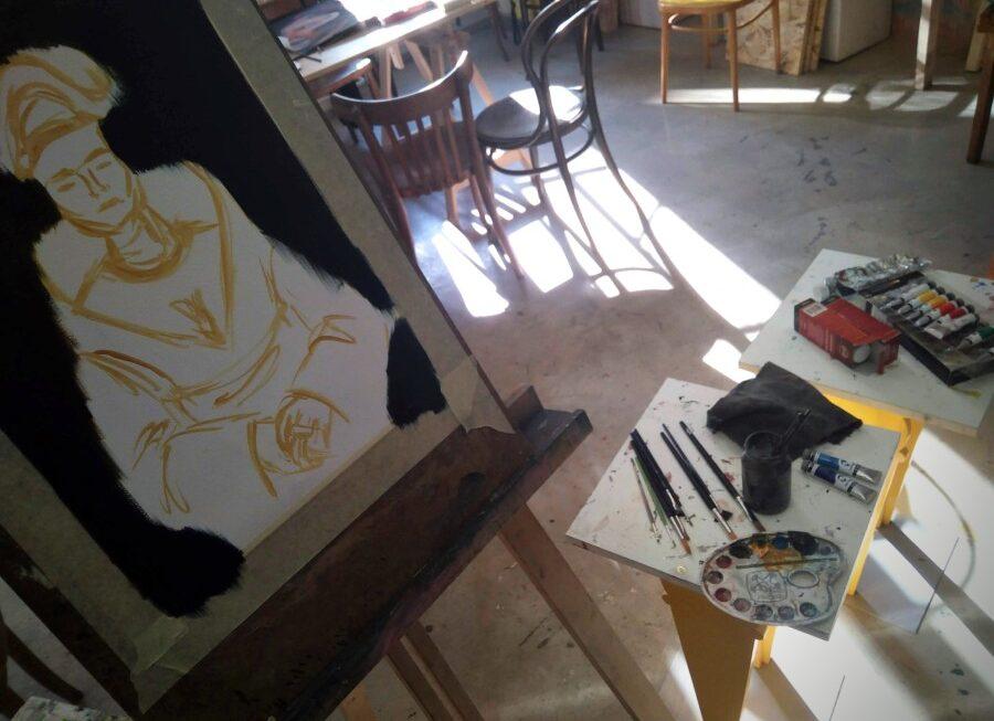 Letní malování v ateliéru StartART