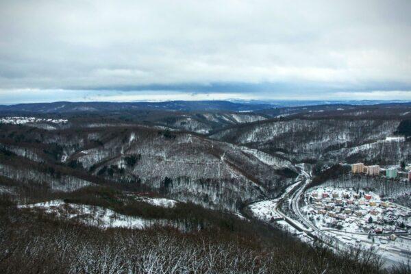 Lednová procházka Moravským krasem